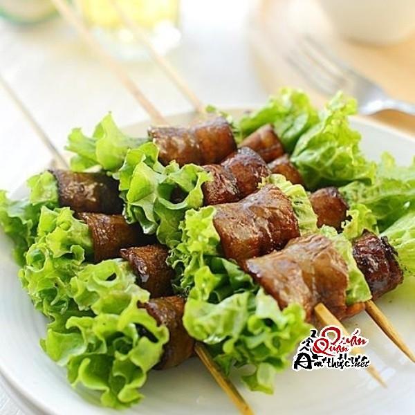 thit-nuong-cuon-rau 2 cách nướng cho món thịt nướng cuộn rau thật hoàn hảo