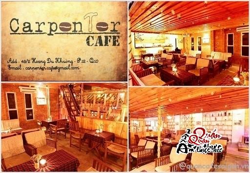 Cafe Carpenter Cafe - Không gian tĩnh lặng giữa Saigon.