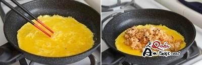 Bữa trưa ngon miệng với món trứng bọc cơm độc đáo 11