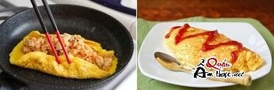Bữa trưa ngon miệng với món trứng bọc cơm độc đáo 13
