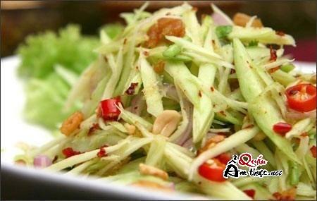 goi-ca-loc-kho Món ngon đặc biệt: Gỏi xoài khô cá lóc