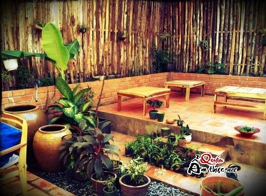ich1 Cà phê Ích - Quán cafe xanh với môi trường