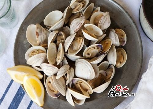 Mẹo mua hải sản, Làm sạch bùn cát, Ngao, Sò, Ốc, Hến