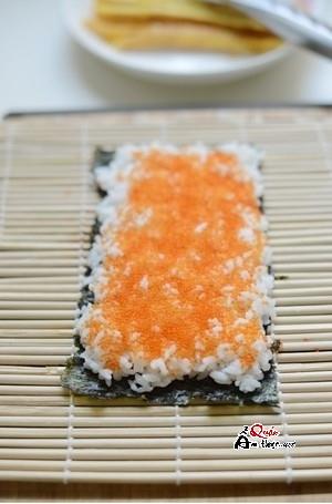 cách làm sushi tại nhà đơn giản 3