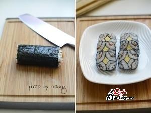 cách làm sushi tại nhà đơn giản 6