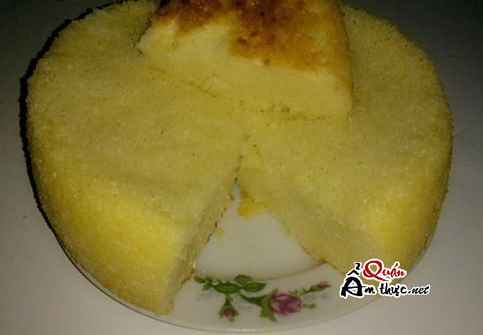 lam-banh-bong-lan-noi-com-dien Công thức làm bánh bông lan bằng nồi cơm điện tại nhà