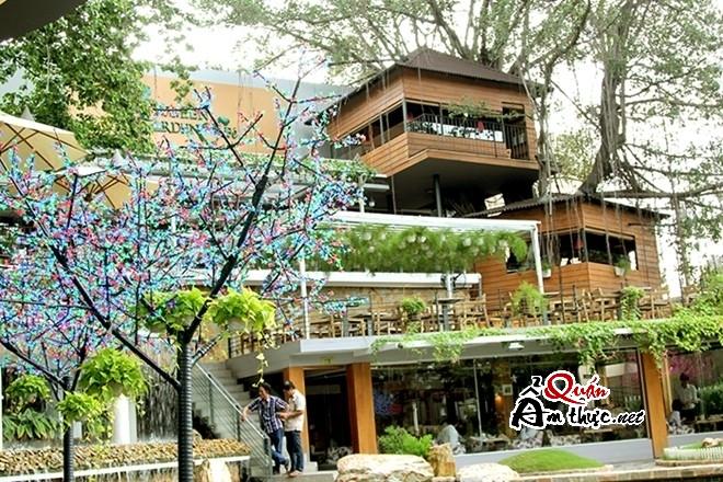 01 Khám phá quán cà phê trên cây độc đáo nhất Sài Gòn