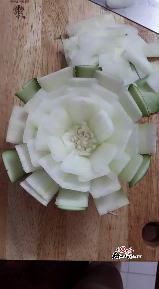 Cách tỉa hoa từ đu đủ đơn giản