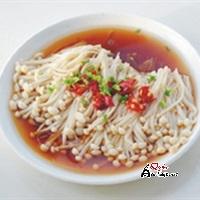 nam-kim-cham-hap-xi-dau Món nấm kim châm hấp xì dầu hấp dẫn