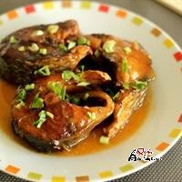 Cá lóc kho nước cốt dừa
