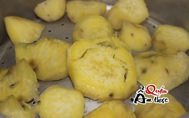 banh-khoai-lang-hap Bánh khoai lang hấp thơm bùi, dẻo ngọt