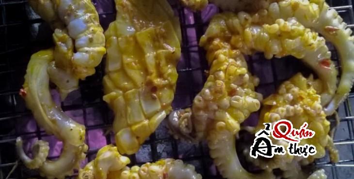Cách làm bạch tuộc nướng sa tế ngon 2