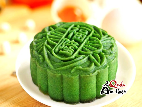 Cách làm bánh Trung thu trà xanh cho người kiêng ngọt