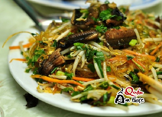 Cách làm miến xào lươn Hà Nội
