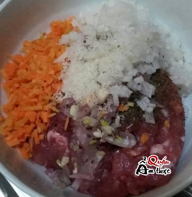 Cách làm há cảo thịt heo củ cải 4