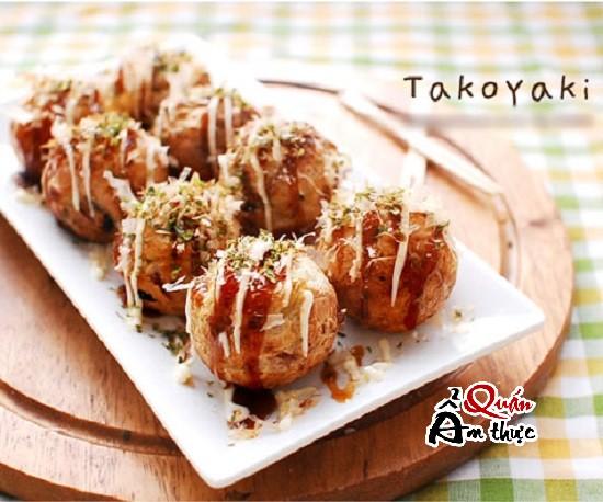 Bánh Takoyaki ngon tuyệt