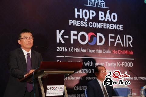 Kết quả hình ảnh cho le hoi Ẩm thực Hàn Quốc 2016