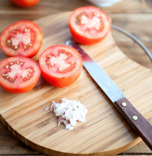 Cách làm cà chua nhồi thịt  2