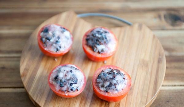 Cách làm cà chua nhồi thịt 3