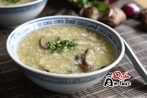 cach-nau-sup-ga-nam-huong Cách nấu súp gà nấm hương ngon & bổ dưỡng