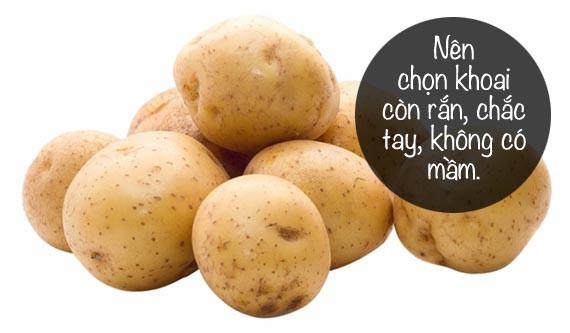 Làm thế nào để tránh ngộ độc khoai tây?