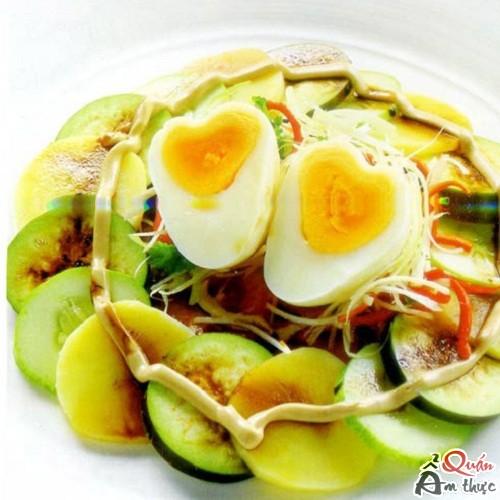 Cách làm salad rau củ trộn sốt mayonnaise