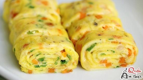 cach-lam-trung-cuon Cách làm trứng cuộn Hàn Quốc ngũ sắc