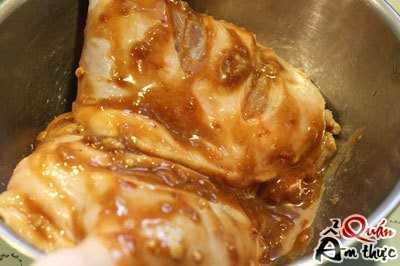 Cách làm đùi vịt nướng chao 3