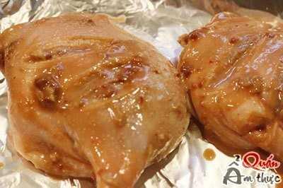 Cách làm đùi vịt nướng chao 4