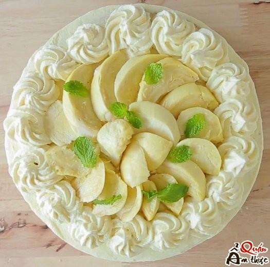 Cách làm bánh sinh nhật sầu riêng ngon