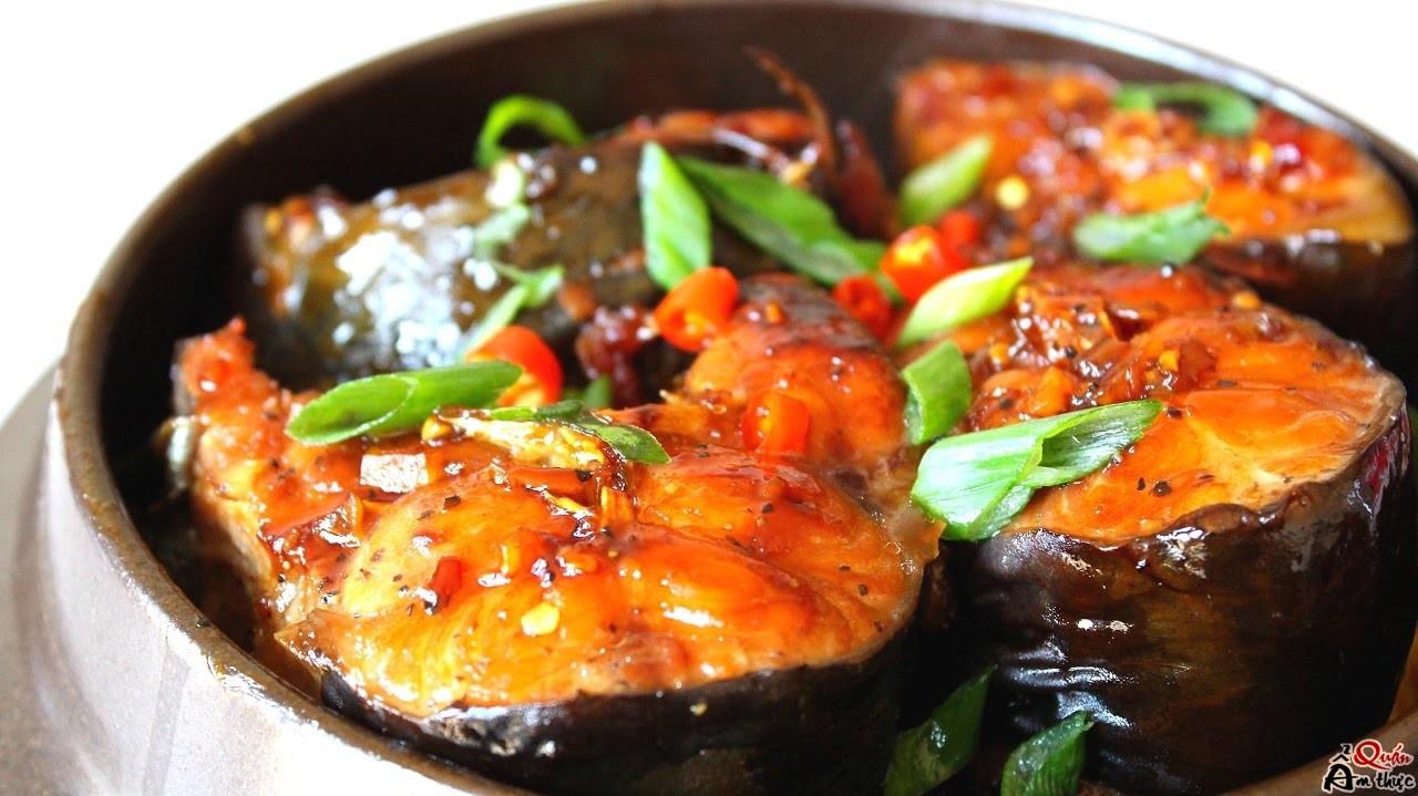 Cách làm cá thu kho cà tím