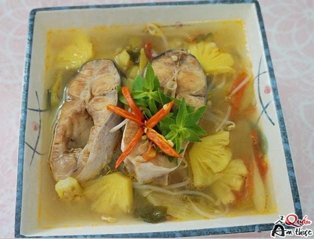 Cách nấu canh chua cá basa ngon