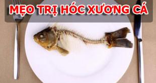 5 mẹo trị hóc xương cá đơn giản nhất ngay tại nhà