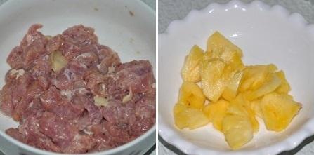 thit-heo-xao-thom Cách làm thịt heo xào thơm chua chua ngọt ngot