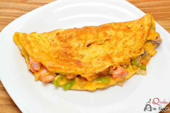 trung-chien-ca-hoi-1 Cách làm trứng chiên cá hồi, món ngon siêu bổ dưỡng