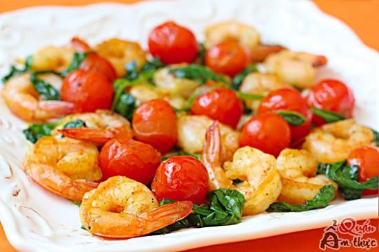 cach-lam-tom-xao-thap-cam-1 Cách làm tôm xào thập cẩm ngon, đẹp, bổ dưỡng