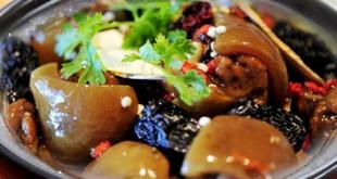 Cách nấu giò heo hầm bắc thảo bổ dưỡng