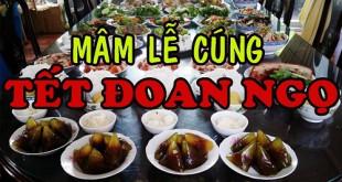 Cách cúng tết Đoan Ngọ