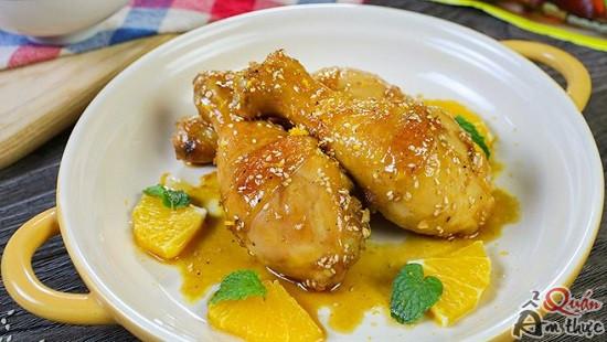 dui-ga-sot-cam-2 Cách làm đùi gà sốt cam ngon mềm, bổ dưỡng
